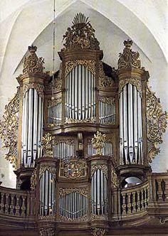 1987 Marcussen & Son orgel in de kathedraal, Odense, Denemarken