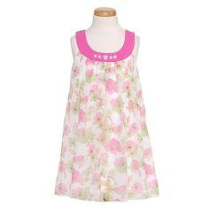 Lipstik Designer Girls Pink Floral Sheer Spring « Clothing Impulse