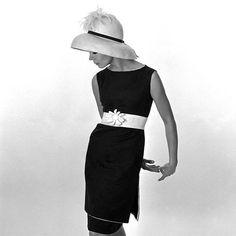 60'lı Yıllardan Siyah & Beyaz Moda Fotoğrafları