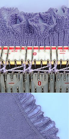 Tatiana Demina Workshops on machine knitting - Knit-Master Knitting Machine Patterns, Knitting Stitches, Stitch Patterns, Knitting Patterns, Knitting Help, Baby Knitting, Brother Knitting Machine, Knit Baby Dress, Fibre And Fabric