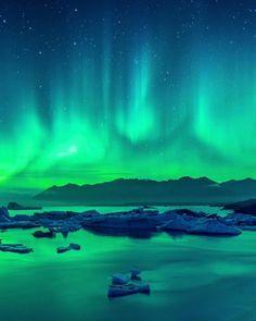 Polarlichter Wow