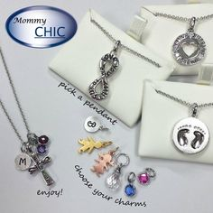 Mommy Chic Customizable Jewelry