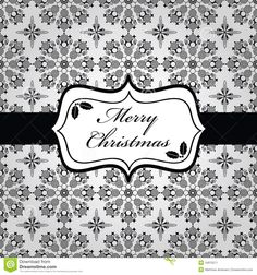 white christmas | Wrapping paper with black and white christmas snowflake pattern and ...