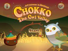 Chokko's Adventures in Birdland: Owl Valley Siliq Digital K-3 story, bonus games
