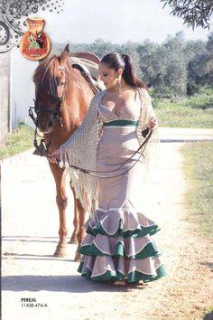 Trajes de Flamenca. Perejil