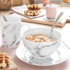 MARBLE china mug | Maisons du Monde