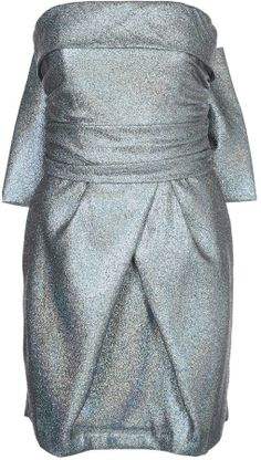 Milly Cocktail dress / Party dress silver on shopstyle.co.uk