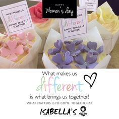Wishing our fabulous friends a super #WomensDay2015 weekend! We are open on Monday and have sweet surprises for you