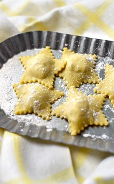 Festive and delicious Golden Beet Ravioli will be the star of your dinner or your party. This great recipe combines fresh, from scratch pasta, with an easy cheesy savory filling that makes enough for a party or to save for later. Best Lasagna Recipe, Best Pasta Recipes, Pasta Dinner Recipes, Pasta Salad Recipes, Great Recipes, Vegetarian Recipes, Butter Pasta, Fresh Pasta, Holiday Dinner