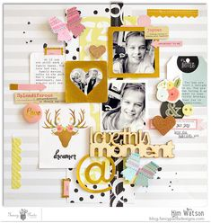 @fancypantsdsgns @KimWatson #layout #scrapbooking #papercrafting
