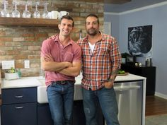 "John Colaneri and Anthony Carrino, stars of HGTV's ""America's Most Desperate Kitchens."""