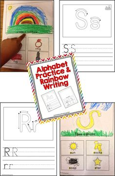 Rainbow Writing, handwriting, vocabulary and sight word sentences.  Great for centers. (scheduled via http://www.tailwindapp.com?utm_source=pinterest&utm_medium=twpin&utm_content=post1465257&utm_campaign=scheduler_attribution)