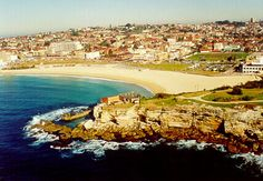 Can't wait to go back to Coogee Beach-Sydney Australia :) Coogee Beach, Beautiful Places In The World, Sydney Australia, Wander, Golf Courses, To Go, Park, Travel, Outdoor