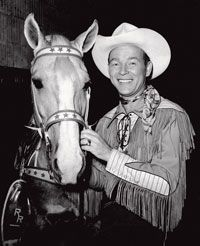 Trigger & Roy Rogers   (born Leonard Franklin Slye; November 5, 1911 – July 6, 1998) -  http://en.wikipedia.org/wiki/Roy_Rogers