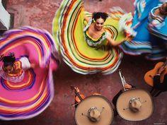 un baile mexicano