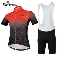 f230fd4a1d47bb サイクルジャージ 上下セット 夏 メンズ サイクリングジャージ 半袖 ビブ付き サイクルウェア 自転車ウェア おしゃれ