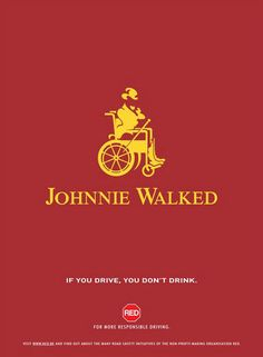 If you drive, you don't drink.