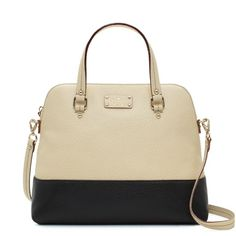 Kate Spade - grove court large maise - yes please! Kate Spade Handbags, Kate Spade Purse, Fashion Bags, Fashion Accessories, Women's Fashion, Looks Style, My Style, Kate Spade Outlet, Beautiful Bags