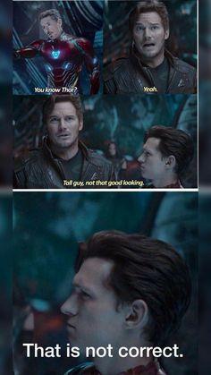 Avengers Humor, Marvel Jokes, Films Marvel, Funny Marvel Memes, Dc Memes, Marvel Heroes, Marvel Dc, Funny Memes, Funny Superhero Memes