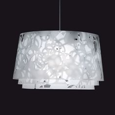 The whimsical Collage 600 Suspension Lamp was created by Louise Campbell for renowned design company Louis Poulsen.The Louis Poulsen label has been creating des Ceiling Fixtures, Ceiling Lamp, Ceiling Lights, Contemporary Pendant Lights, Modern Chandelier, Chandeliers, Modern Light Fixtures, Modern Lighting, Lighting Ideas