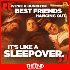 Who's seen This Is The End? Rumor has it the Fatboy® Metahlowski made things a little cozier for James Franco, Jonah Hill, Seth Rogen, Michael Cera and the rest of the crew's last day on Earth!