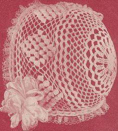 Thread Crochet Baby Bonnet Pattern   Free Crochet Baby Bonnet Patterns – Crocheting Baby Bonnets