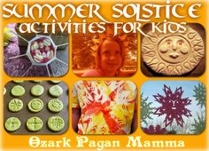 Summer Solstice activities for kids. Discover more ways to celebrate the Summer Solstice with your family at www.TheSeasonalSoul.com