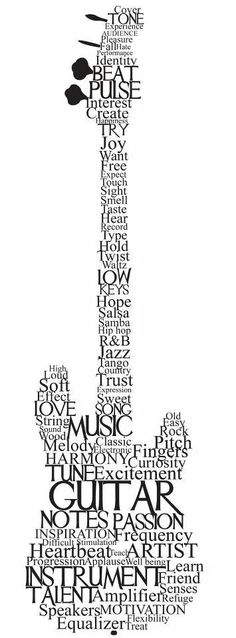 Guitar..music, notes of passion, instrument...