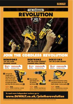Dewalt uses Reevoo scores and reviews in their 2013 cataloque Email Template Design, Email Templates, Flyer Template, Catalogue Layout, I Want To Work, Customer Engagement, Catalog Design, Drill Driver, Print Advertising