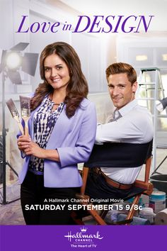 "Its a Wonderful Movie - Your Guide to Family and Christmas Movies on TV: Danica McKellar and Andrew Walker star in Hallmark Channel's ""Love in Design"""