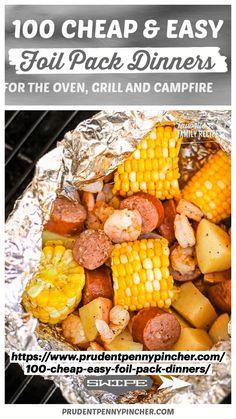 Camping Food Make Ahead, Make Ahead Meals, Camping Recipes, Camping Hacks, Grilling Recipes, Camping Cooking, Camping Dishes, Camping Supplies, Camping Checklist