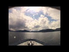 Sergius narrows aboard the MV/ Matanuska. Time lapse video over 4000 still shots used.