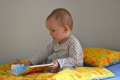 Reading at twelve months - how we montessori