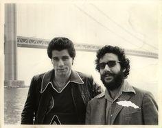 tromapast:  John Travolta fondling a young Lloyd Kaufman on the set of Saturday Night Fever.