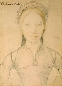 Believed to be Jane Boleyn, Lady Rotchford (George Boleyn wife) by Hans Holbein