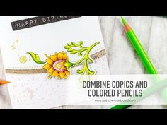 Combine Copics and Pencils - YouTube