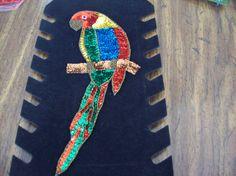 Parrot Sequin Appliques, Sequin Appliques, Sweater Sequin Appliques, Shirt and…