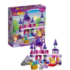Lego Duplo Disney Sofia The First: Sofia's Royal Castle (10595)  Manufacturer: LEGO Enarxis Code: 014715 #toys #Lego #duplo #Disney #Sofia #castle