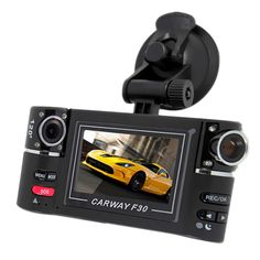 """Best HD 1080P Dual Lens Car DVR Camera 2.7"""" Car DVR Vehicle Driving Camcorder Video Recorder Night Vision With Original Package"""