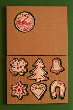 Salt Dough Ornament,Christmas Decor, X-mas decor, Winter tree decoration