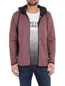 Panel Pocket Hooded Sweatshirt