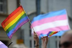 People hold up rainbow flags during an lesbian, gay, bisexual and transgender (LGBT) parade. Photo by Samuel Kubani/AFP/Getty ImagesINDIANAPOLIS — A transgender man granted asylum by the U. Voice Therapy, Gay Rights Movement, Lgbt Youth, Gender Nonconforming, Trans Rights, Trans Man, Lgbt Rights, Human Rights, Transgender People