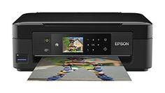 Epson Expression Home XP-432 Tintenstrahl Multifunktionsdrucker (Drucken, Scannen, Copy-Funktion, 5.760x1.440 dpi, Wi-Fi, USB) schwarz