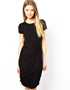 Image 1 of ASOS Body-Conscious Dress With Double Knot Skirt