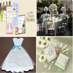 Bridal showers ideas