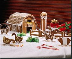 better homes and gardens gingerbread house | photo from better homes and gardens website