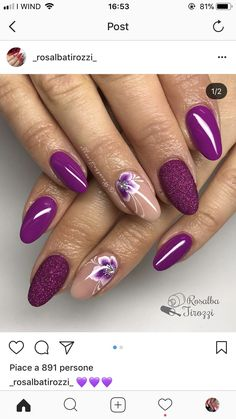 Mom's Nails 2019 – # Nails Pretty Nail Art, Beautiful Nail Art, Beautiful Pictures, Gel Nail Art, Acrylic Nails, Nail Nail, Nail Polish Designs, Nail Art Designs, Lace Nails