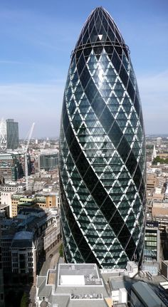 30 St Mary Axe | See More Pictures | #SeeMorePictures