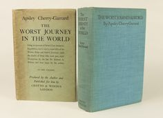 Chet Ross Rare Books » The Worst Journey In The World. Antarctic 1910-1913
