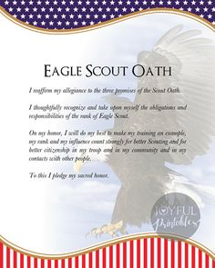 Eagle Scout Court of Honor Posters printable 16 x Eagle Scout Cake, Eagle Scout Gifts, Brownie Girl Scouts, Girl Scout Swap, Girl Scout Leader, Scout Mom, Scout Quotes, Eagle Scout Ceremony, Girl Scout Crafts